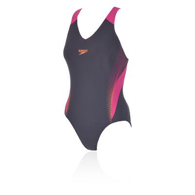 Speedo V-Neck Placement Medalist femmes SwimSuit