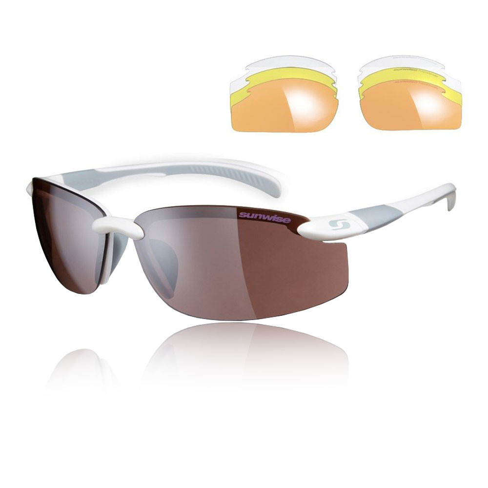 Sunwise Pacific Interchangeable Sunglasses - White - SS19