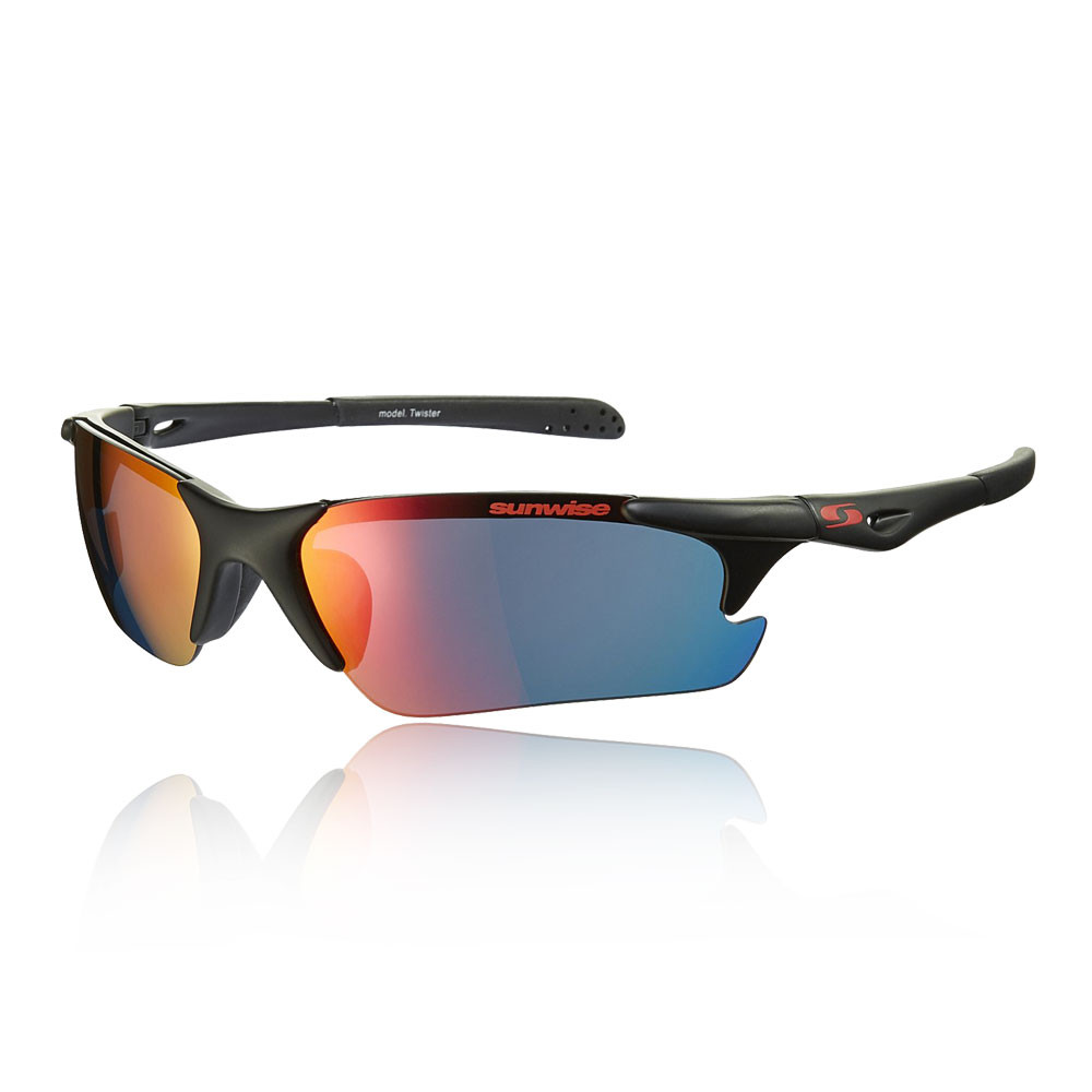 Sunwise Twister MK1 Black Sunglasses - SS20