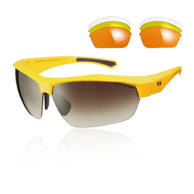 Sunwise Interchange 4 lens Sunglasses  (Yellow)
