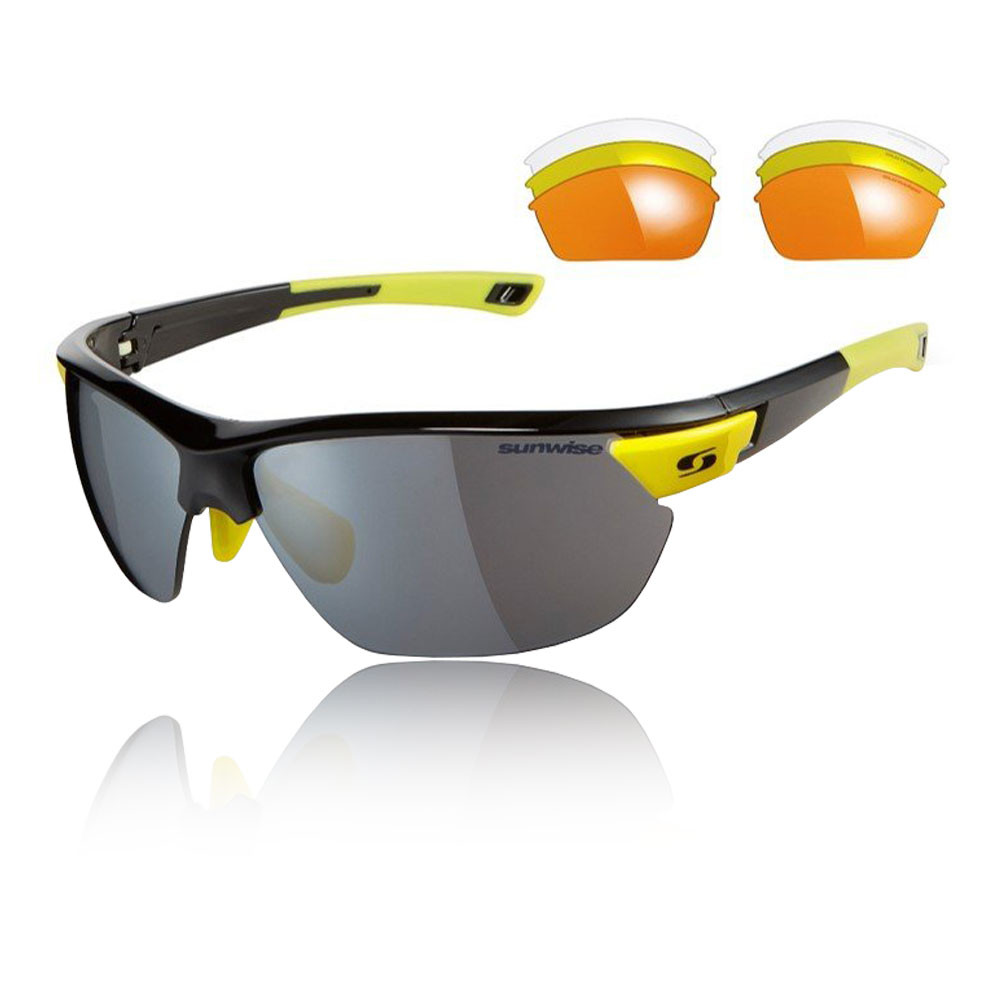 Sunwise Kennington Interchangeable 4 Sets Of Lenses - Black - SS20