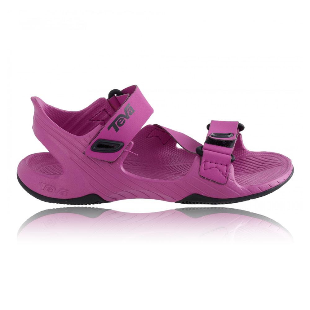 Teva Barracuda Junior Purple Waterproof Walking Velcro