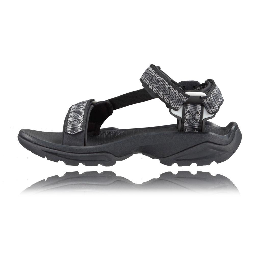 Teva Terra Fi da uomo Athletic Outdoor Sandali Nero Nero 12 UK