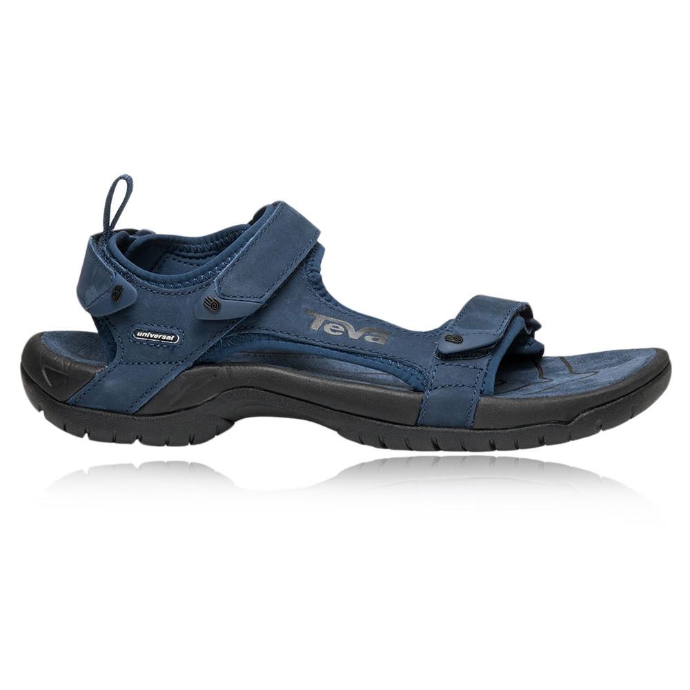 Teva Tanza Leather Walking Sandals 50 Off Sportsshoes Com