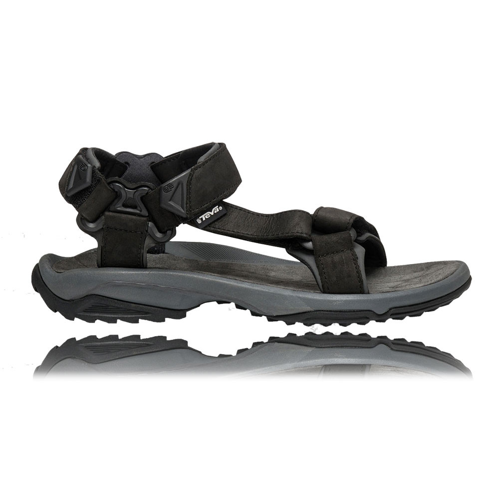 teva terra fi lite herren leder trekking sommer sandalen wanderschuhe schwarz ebay. Black Bedroom Furniture Sets. Home Design Ideas