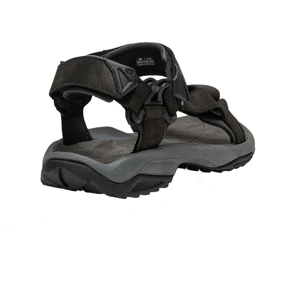 teva terra fi lite herren leder trekking sommer sandalen wanderschuhe schwarz ebay. Black Bedroom Furniture Sets. Home Design Ideas