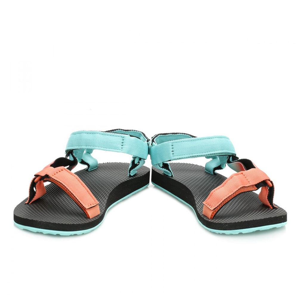657108fccb7d4 Teva Original Universal Gradient Womens Blue Walking Summer Shoes Sandals