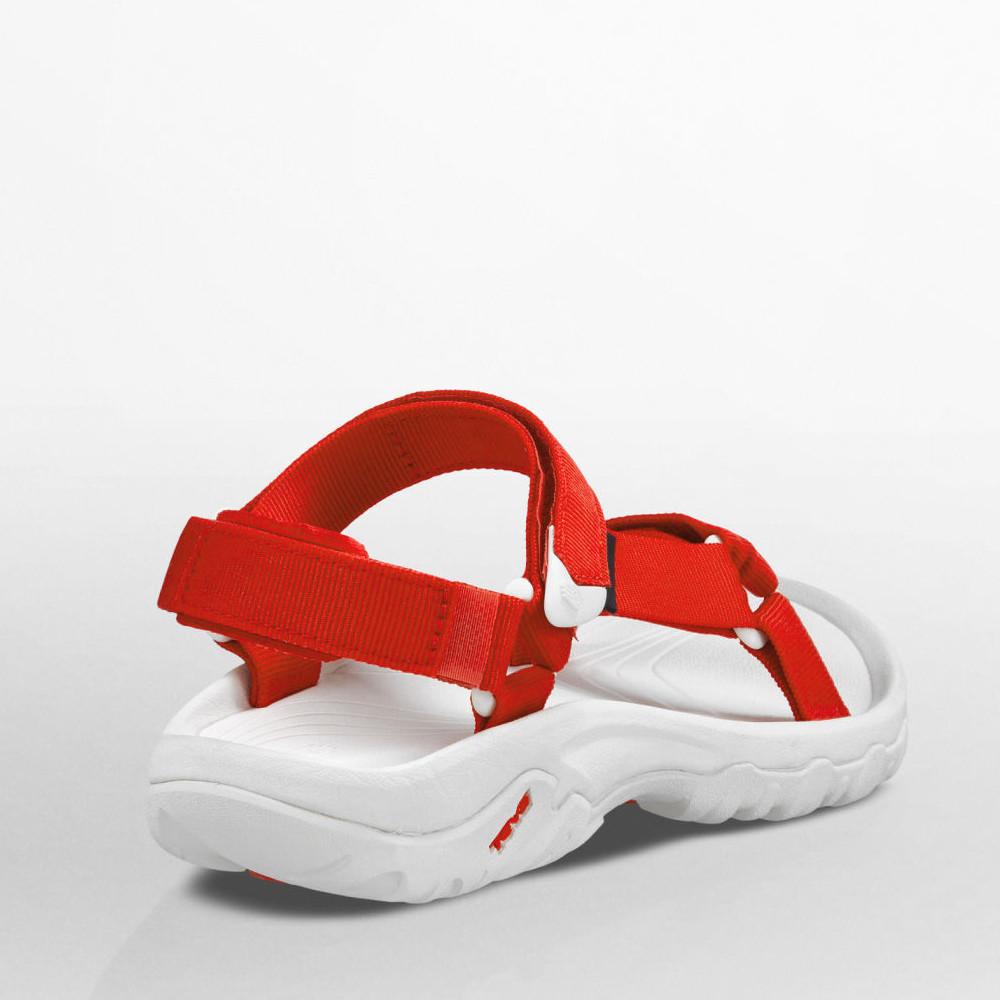 teva hurricane xlt damen trekkingsandalen wanderschuhe outdoor sandalen wei rot ebay. Black Bedroom Furniture Sets. Home Design Ideas