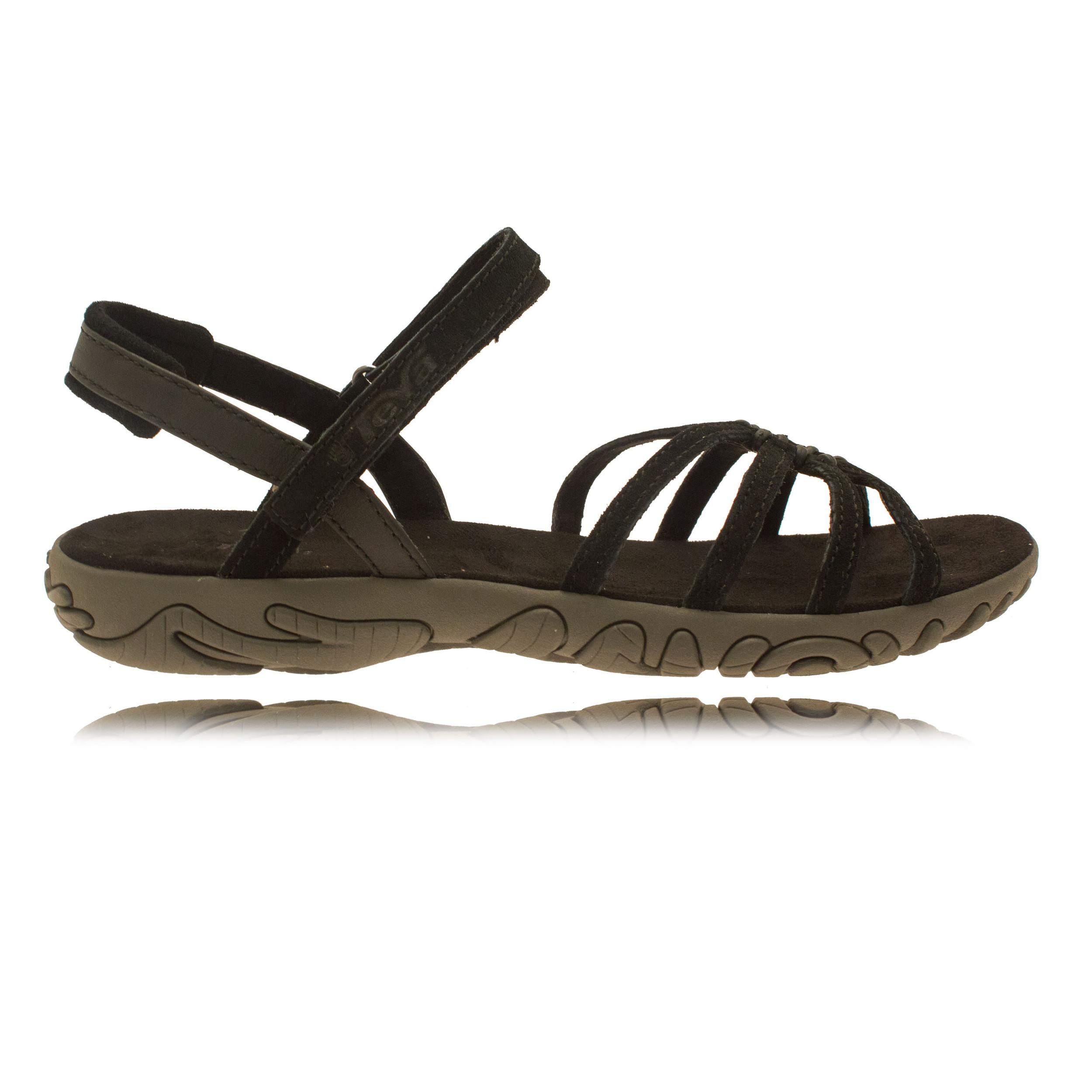 teva kayenta suede damen trekkingsandalen wanderschuhe outdoor sandalen schwarz ebay