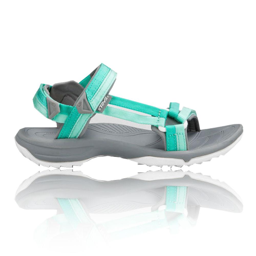 ac21c8b09c41d Details about Teva Terra FI Lite Womens Grey Green Walking Outdoors Sandals  Summer Shoes