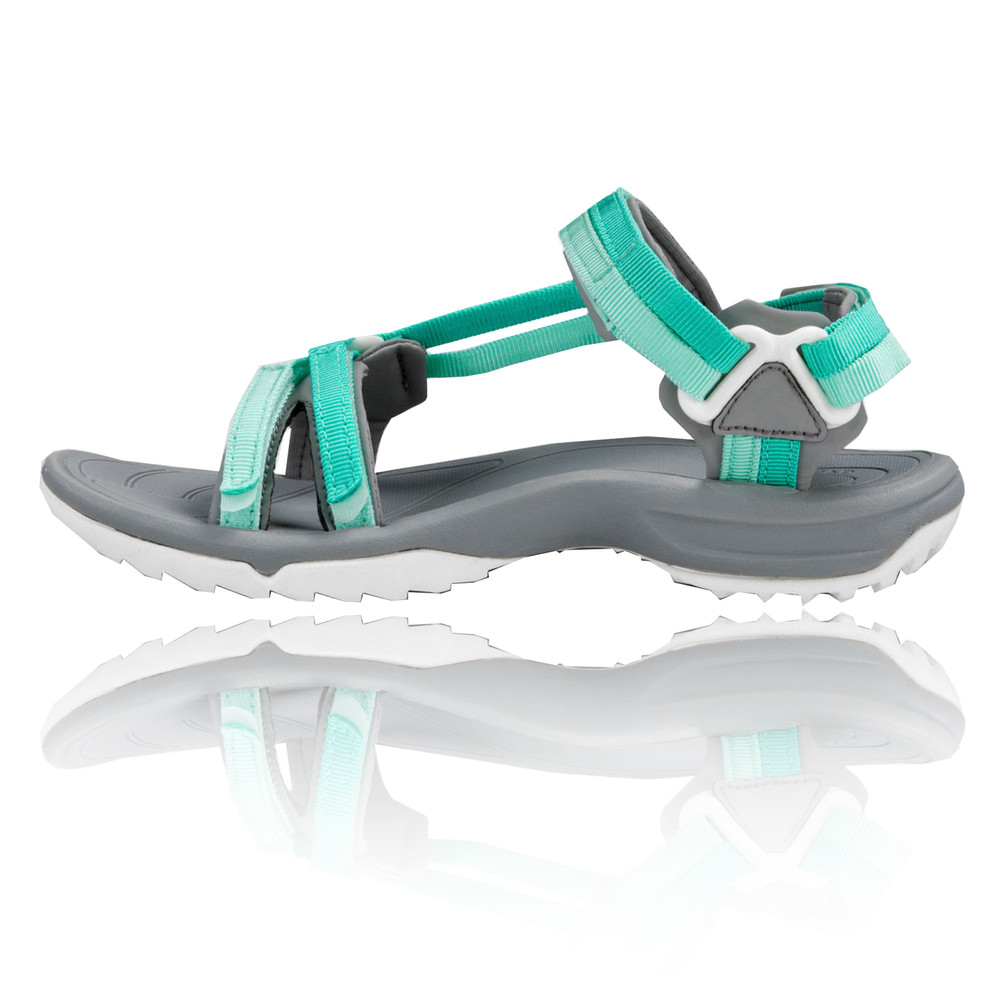 b338e2456bfc2d Teva Terra FI Lite Womens Grey Green Walking Outdoors Sandals Summer ...