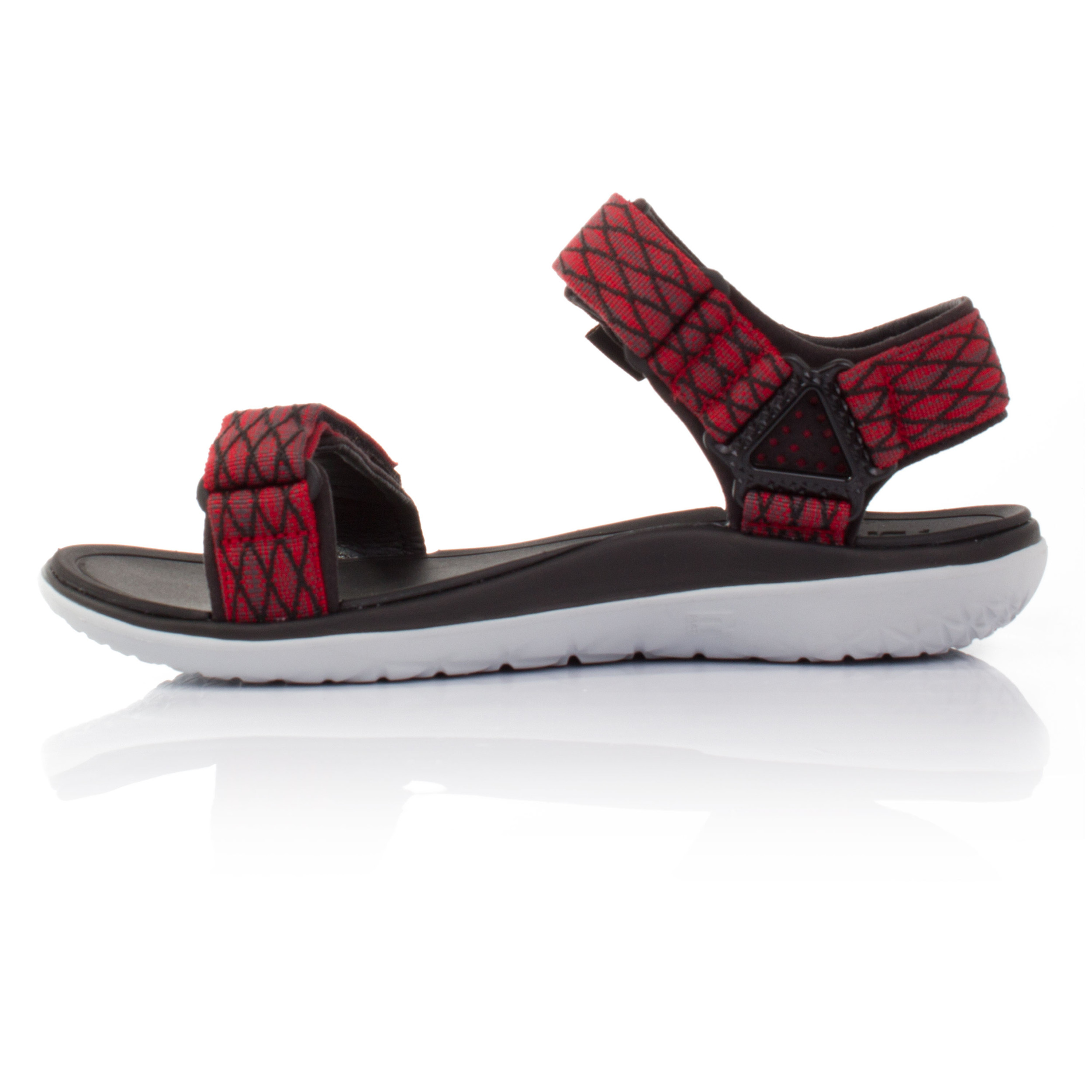 Teva Terra-Float Universal Mens Red Black Walking Trekking Summer Shoes  Sandals