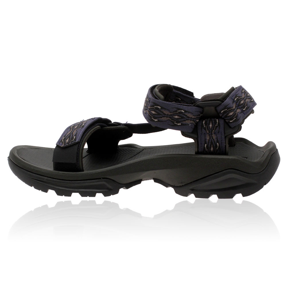 e33922553f56 Teva Mens Terra FI 4 Purple Microban Outdoors Sports Walking Sandals ...