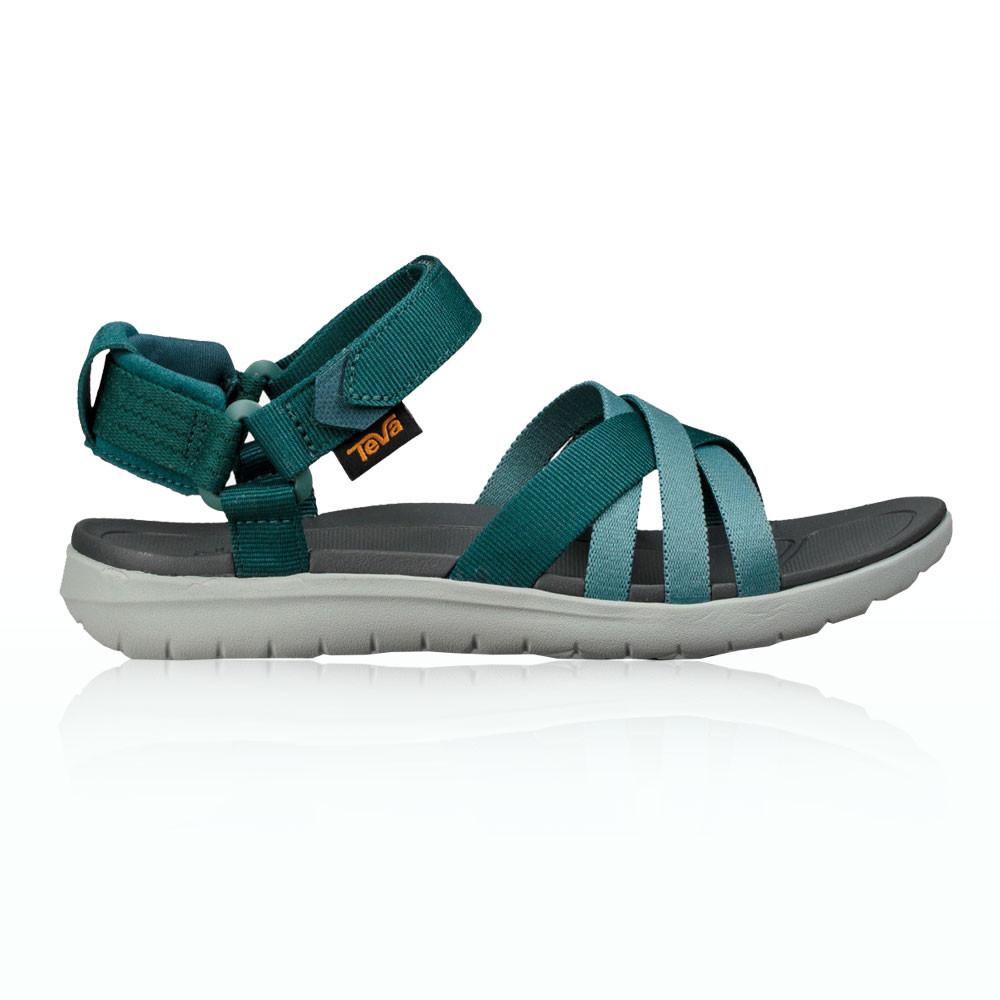 b8f2735ff4c0c Details about Teva Womens Sanborn Walking Summer Shoes Sandals Green