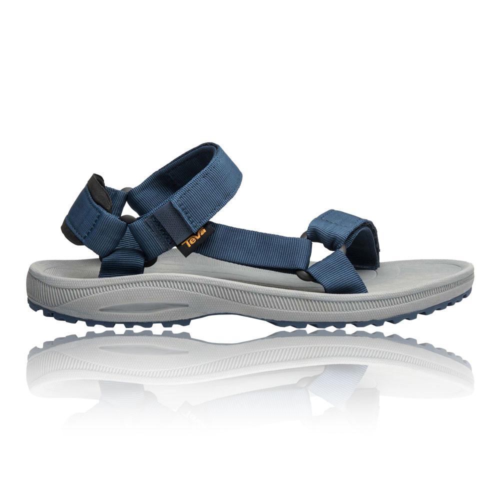f34e13b402c8 Teva Mens Winsted Solid Walking Sandal Blue Grey Sports Outdoors