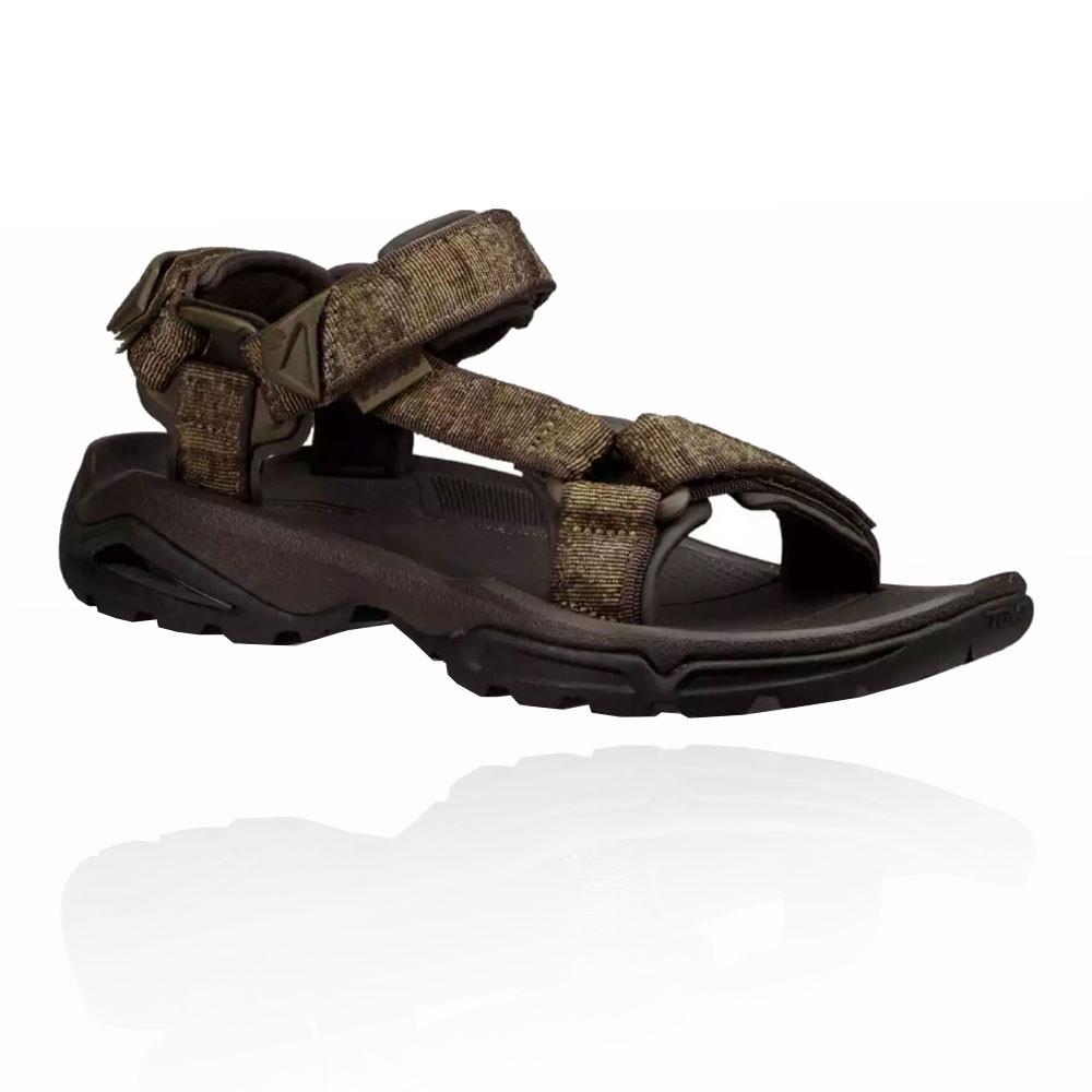 40c338c60de304 Teva Herren Terra FI 4 Wanderschuhe Trekking Outdoor Schuhe Sandalen Braun  Grün