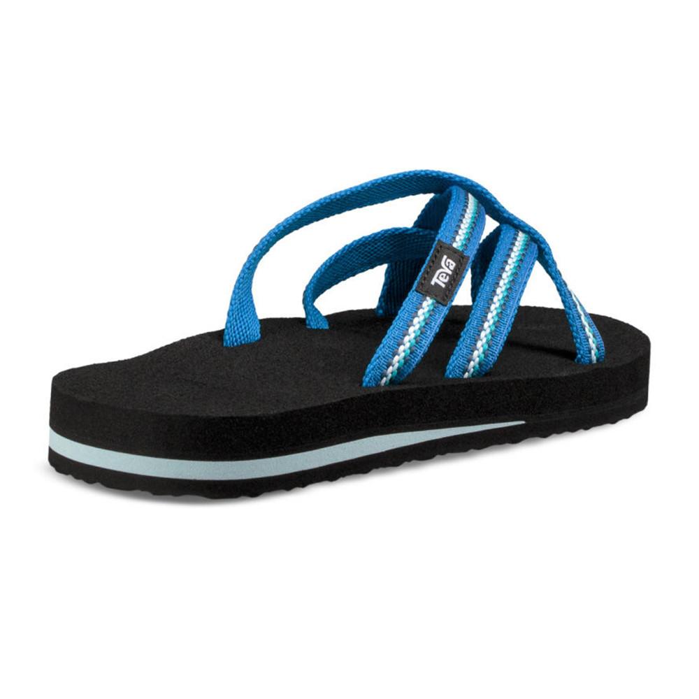 a1cc184f97546 Teva Womens Olowahu Flip Flops Blue Sports Outdoors Breathable Lightweight