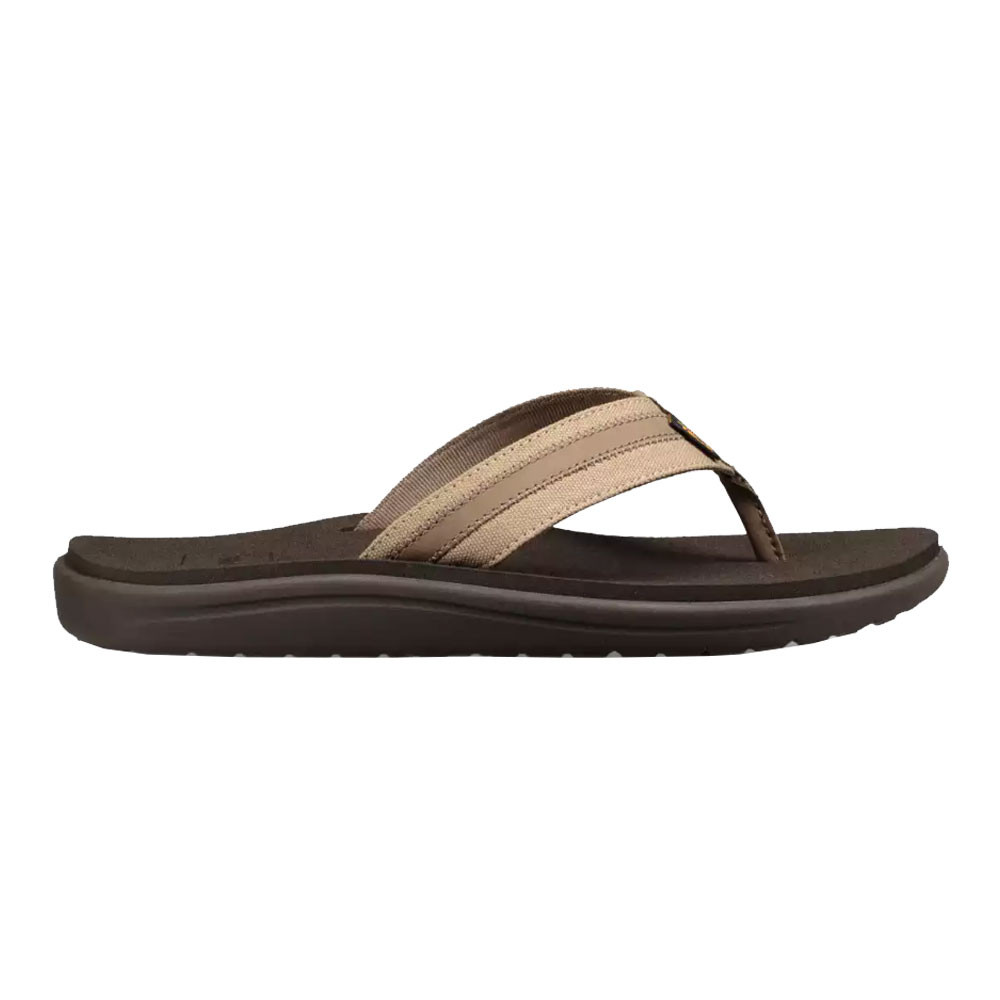 Zapatos Teva Deporte Canvas Hombre Marrón Sandalias Voya Flip WHe2bDYE9I