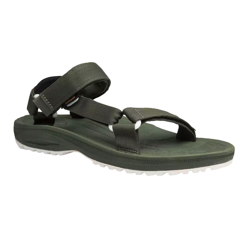 d4d901d621d98 Details about Teva Mens Winsted Solid Walking Sandal Green Sports Outdoors  Breathable