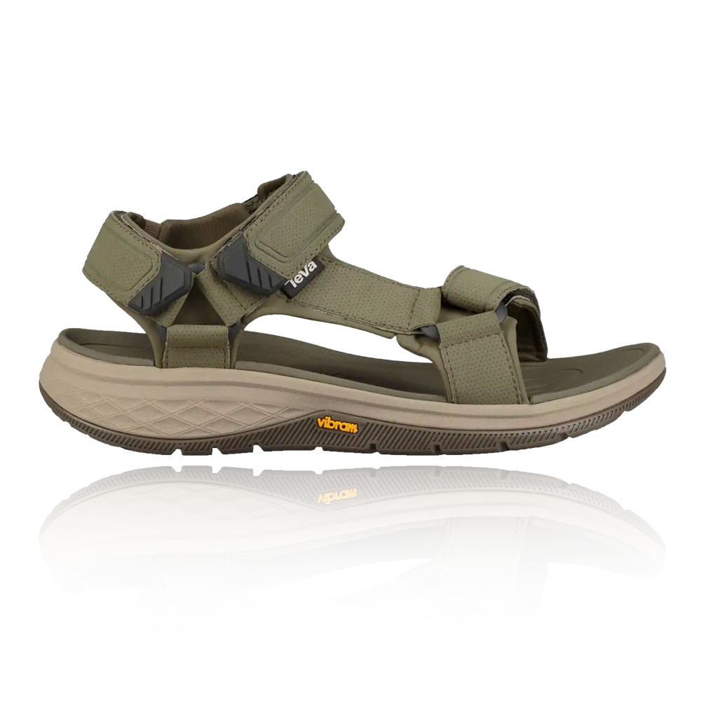 a4c226867a02 Teva Mens Strata Universal Shoes Sandals Brown Green Sports Outdoors Water