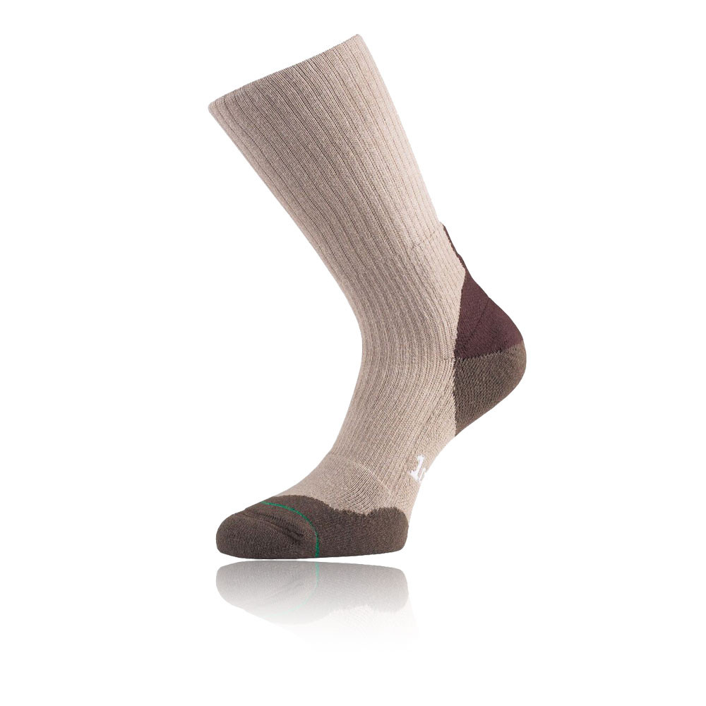 1000 Mile Fusion Mens Brown Outdoors Walking Hiking Trekking Socks