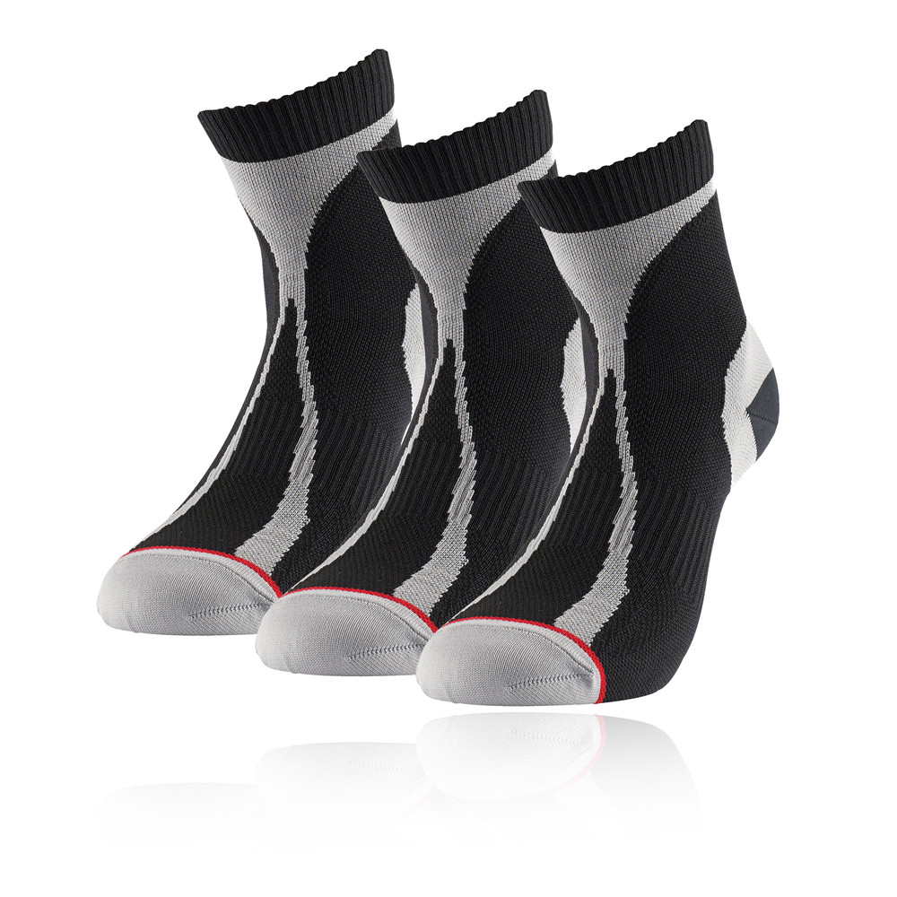 1000 Mile Racer Mid-Height running calcetines - 3 paquete