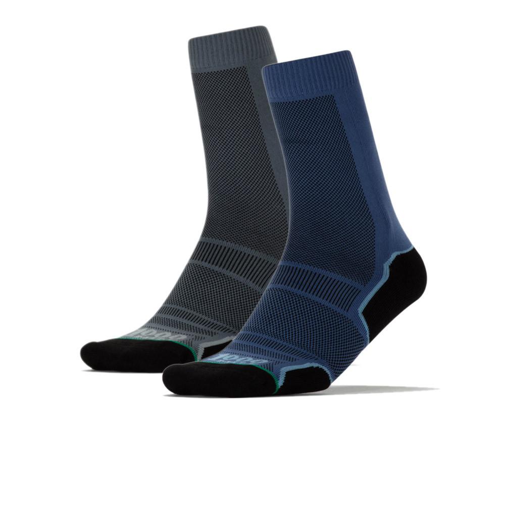 1000 Mile Trek Socks (Twin Pack) - AW20