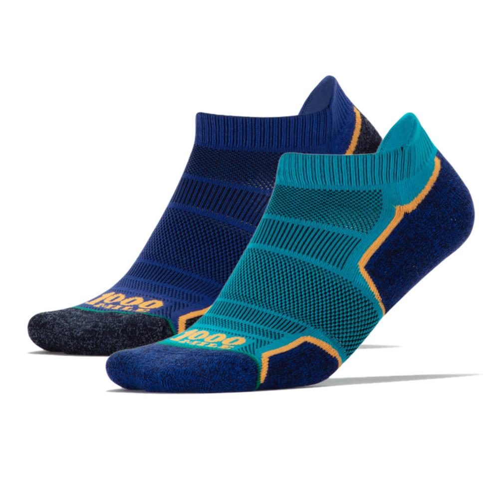 1000 Mile Run Socklet Running Socks (Twin Pack) - SS21