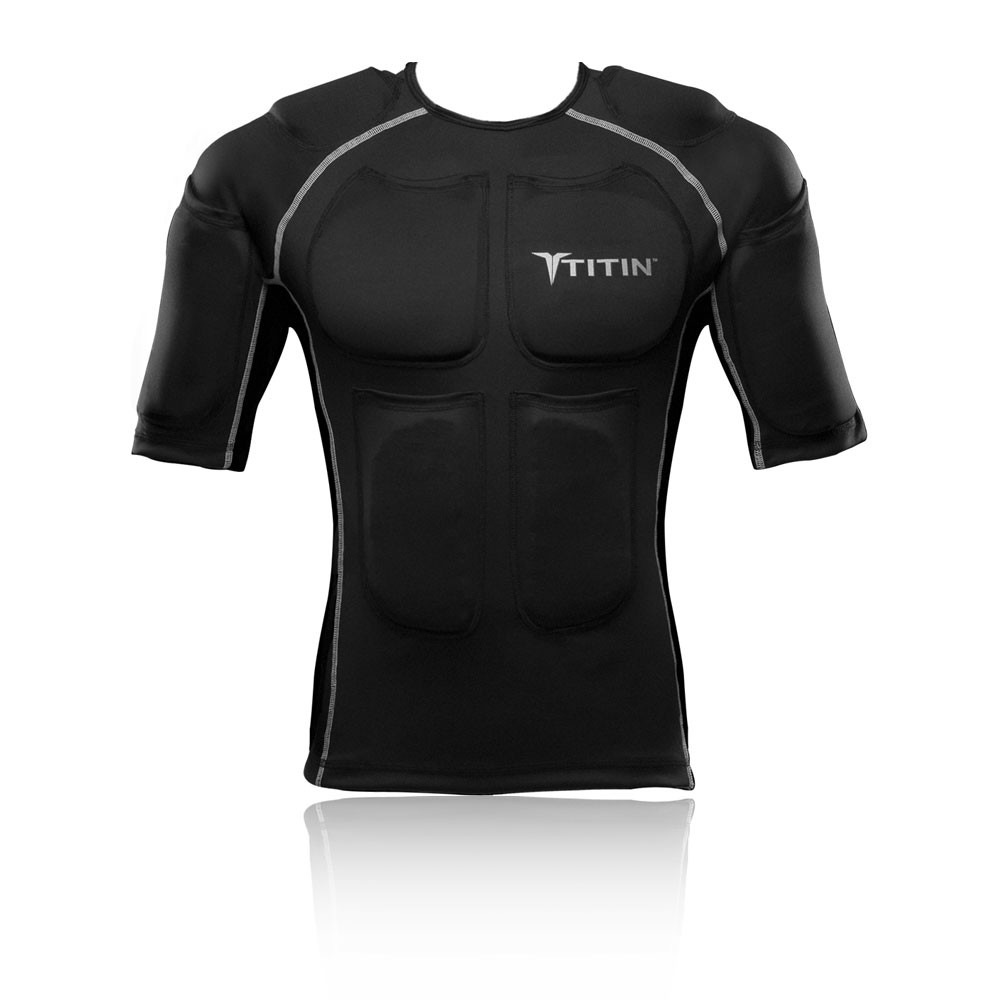 Titin Weighted Compression Short Sleeve Shirt