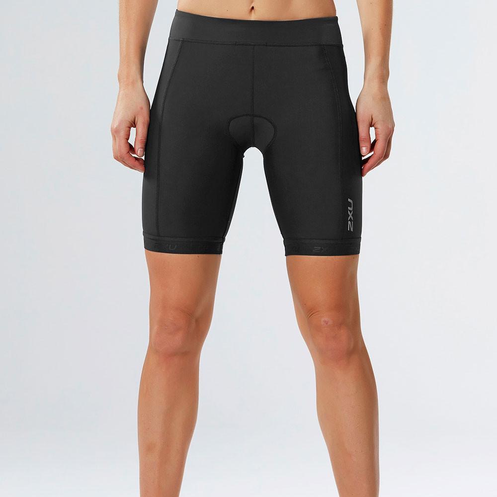 2xu active damen triathlon kurze hose sporthose shorts funktionshose schwarz ebay. Black Bedroom Furniture Sets. Home Design Ideas