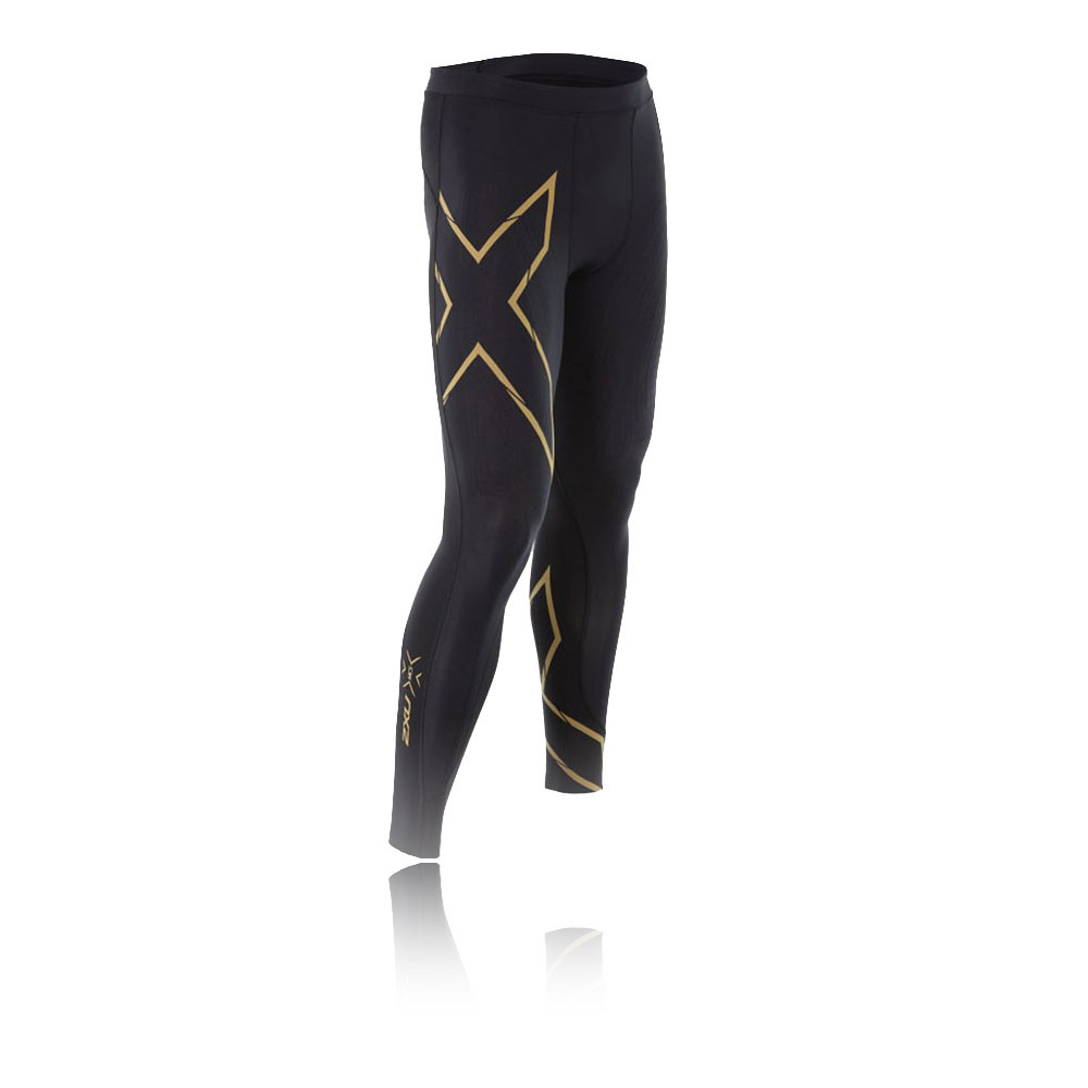 090cd667b3 Details about 2XU Elite MCS Mens Black Compression Fitness Long Tights  Sports Bottoms Pants