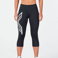 2XU Ice X Mid-Rise Compression 3/4 Women's Tights - AW18
