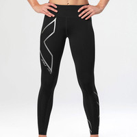2XU Hyoptik Mid-Rise Women's Compression Tights - SS18
