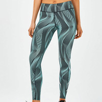 2XU Mid-Rise Print compression femmes  collant  - SS18