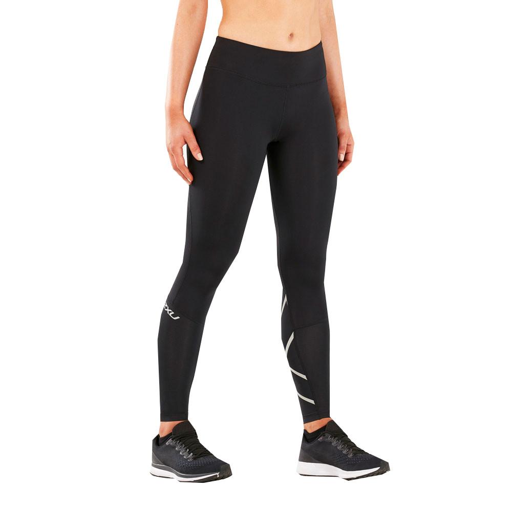 Détails sur 2Xu Femmes Run Mid Rise Compression Leggings Fitness Jogging Running Multicolore