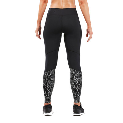 2XU Reflect Run Mid-Rise compresión para mujer mallas