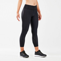2XU Print Mid-Rise para mujer Compressions 7/8 mallas  - AW18