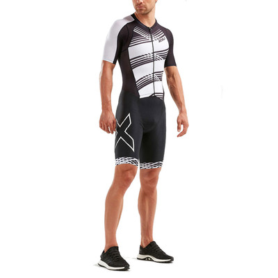 2XU Compression Full Zip Sleeved Trisuit - SS19