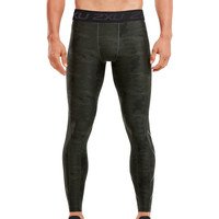 2XU Accelerate Print Compression Tights