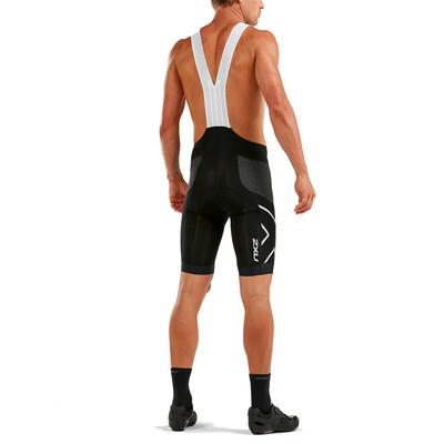 2XU compresión Cycle SteelX Bib pantalones cortos