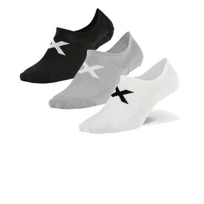 2XU Invisible calza 3 confezione