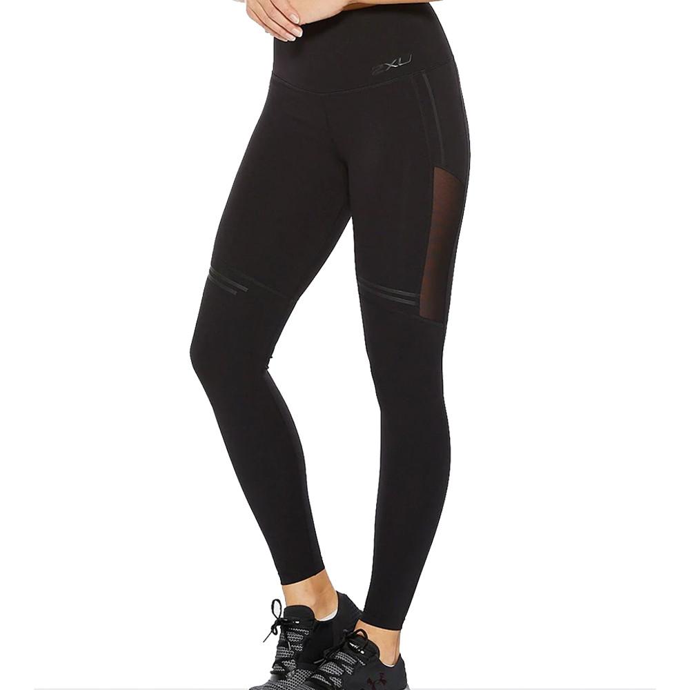 2XU Fitness Hi-Rise Mesh compressione per donna collant