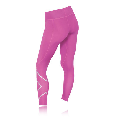 2XU Mid Rise para mujer compresión mallas de running