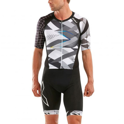 2XU Compression Full Zip Sleeved Trisuit - SS21