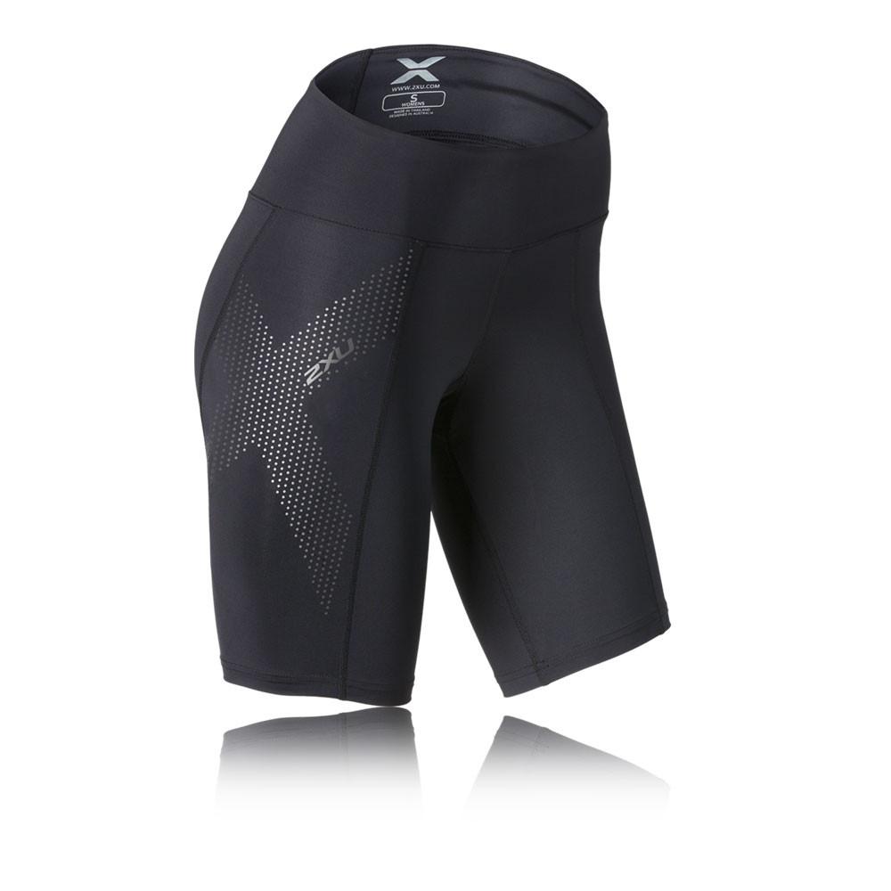 2XU Mid-Rise para mujer pantalones cortos de compresión