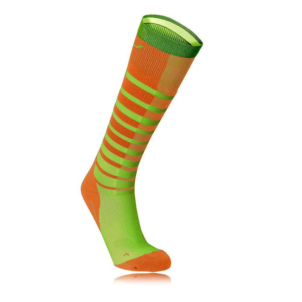 2XU Run Compresión Calcetines de rayas
