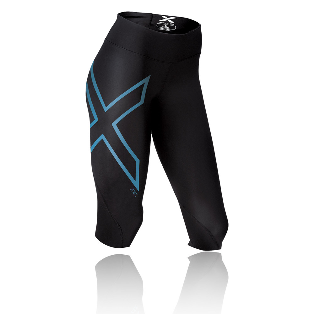 2XU Ice Mid-Rise Compression Women's Running Capri
