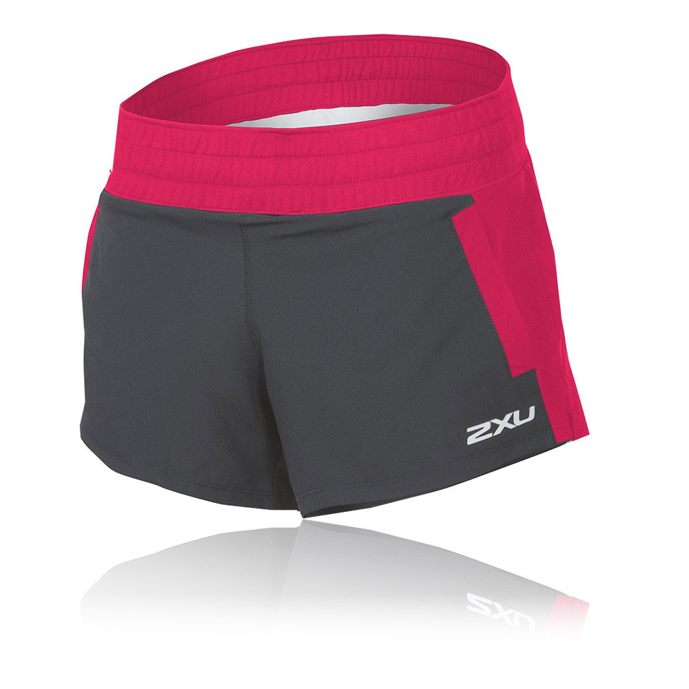 2xu stride 4 damen laufhose jogginghose shorts kurze hose. Black Bedroom Furniture Sets. Home Design Ideas