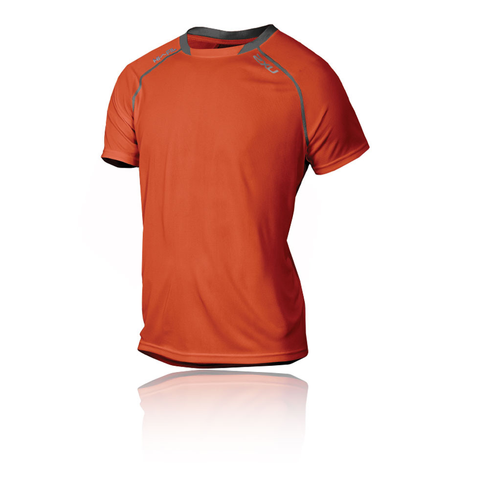 2xu Tech Vent Short Sleeve Running T Shirt Ss16