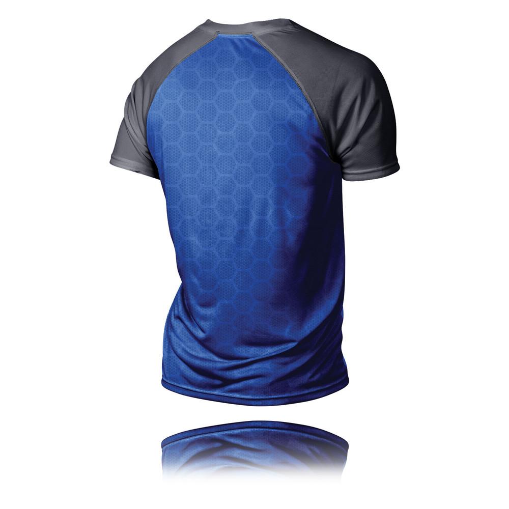 2xu Tech Vent 2 Tone Running T Shirt Ss16
